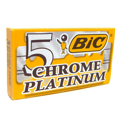 Лезвия BIC Chrome Platinum